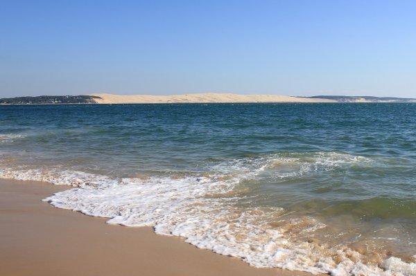 Dune du Pilat depuis la pointe du Ferret