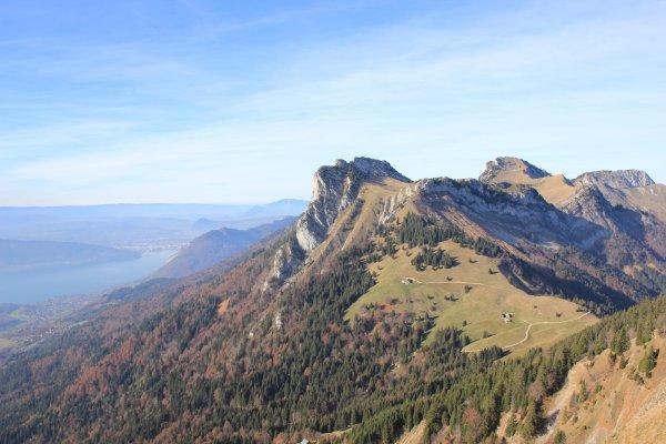 Rando au dessus d'Annecy : la Tournette