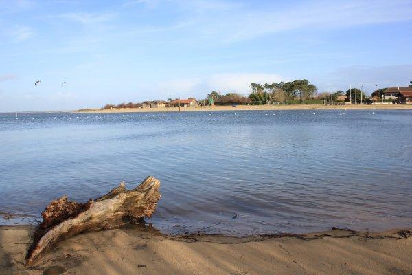 La plage de La Hume