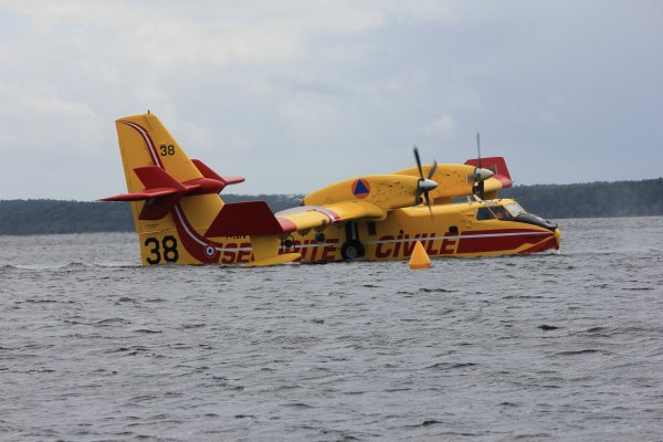 Flying spirit - canadair