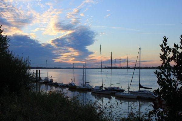 Le port de Bourg