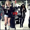 RUBRIQUE : TENUES !   Qui a la plus belle tenue ? Miley Cyrus / Vanessa Hudgens