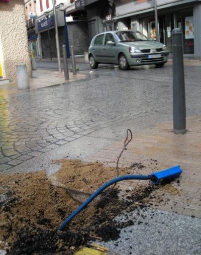 Albi. Vandalisme au centre ville