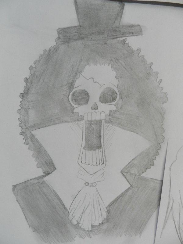 Et voici le premier dessin