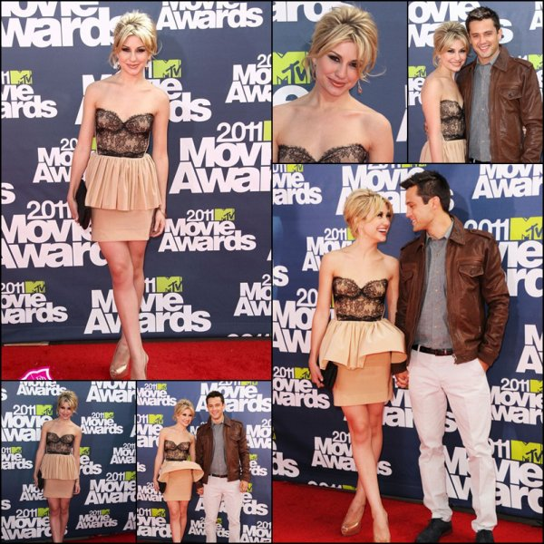 Flashback : Chelsea était en 2010 et 2011 au MTV Movie Award