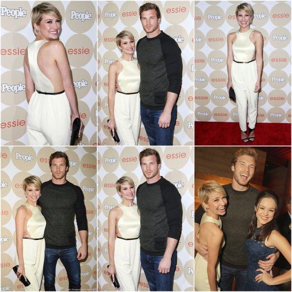 09/10/2013 Chelsea et Derek se sont rendue a la soirée de  People Magazine's j'adore la tenue de Chels ♥