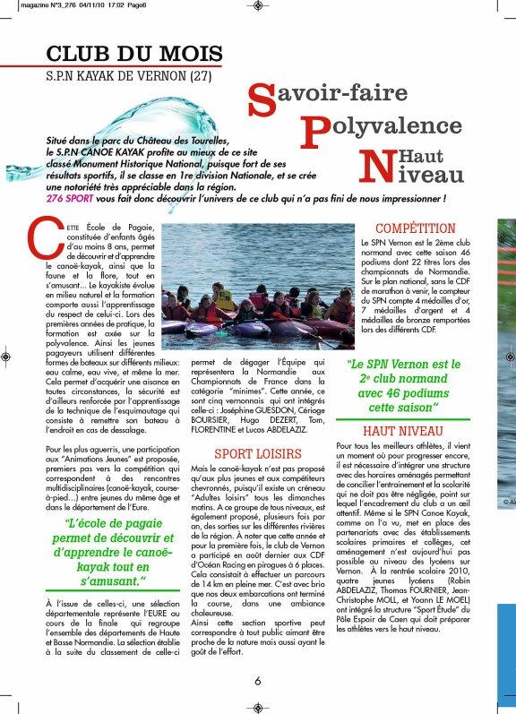276SPORT N°3  page 6