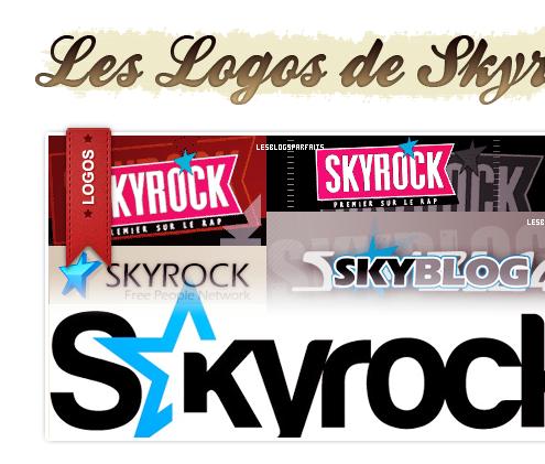 L'évolution de Skyrock.com