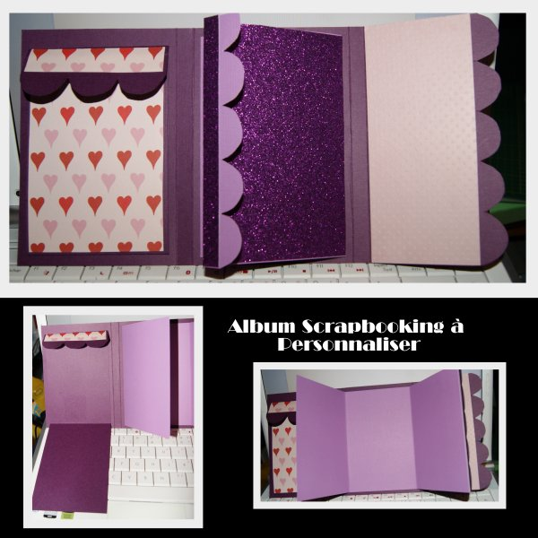 album personnaliser passion scrapbooking
