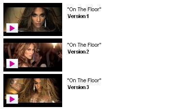 """Jennifer Lopez : Choisit la scène finale de son nouveau clip """"On The Floor""""."""