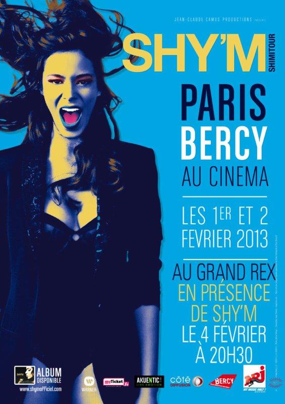Shy'm Paris Bercy au cinema