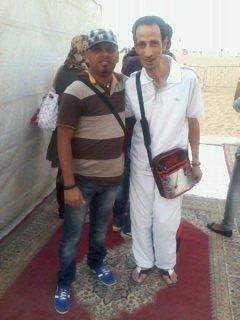 """moi & saLim """" arrangeur de bilal """" 30-07-2011 _ 18h15 a la scéne du soiré mohamedia"""