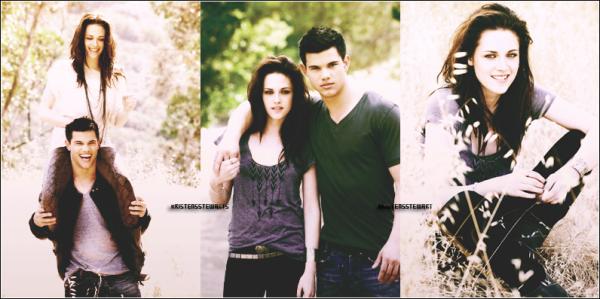 (Re) Découvrez un Photoshoot de Kristen Stewart accompagné de Taylor Lautner pour Entertainment Weekly ♥