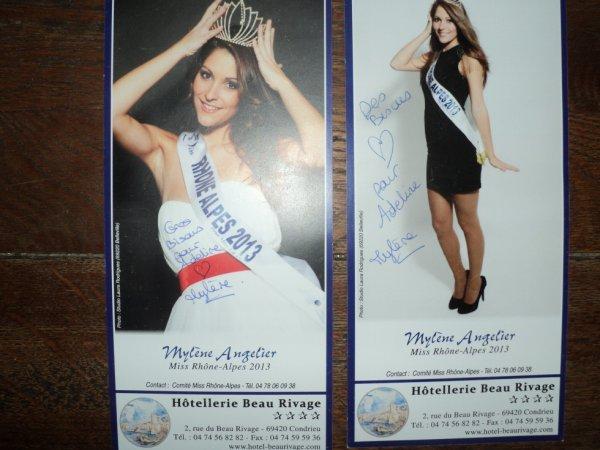 Mylène Angelier  Miss Rhône-Alpes 2013