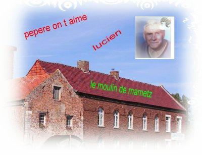 un petit souvenir de mon grand pere lucien levecque ne en 1907 et qui a travailler au moulin de mametz