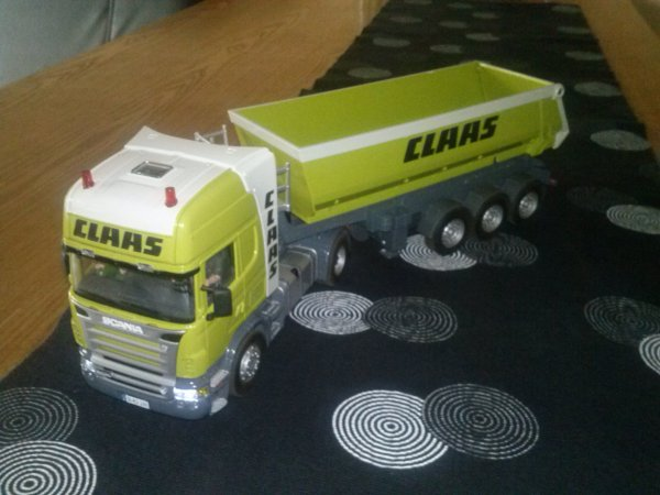 camion scania R620 conversion claas