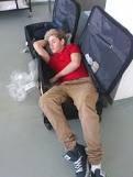 Eux et....leurs valises