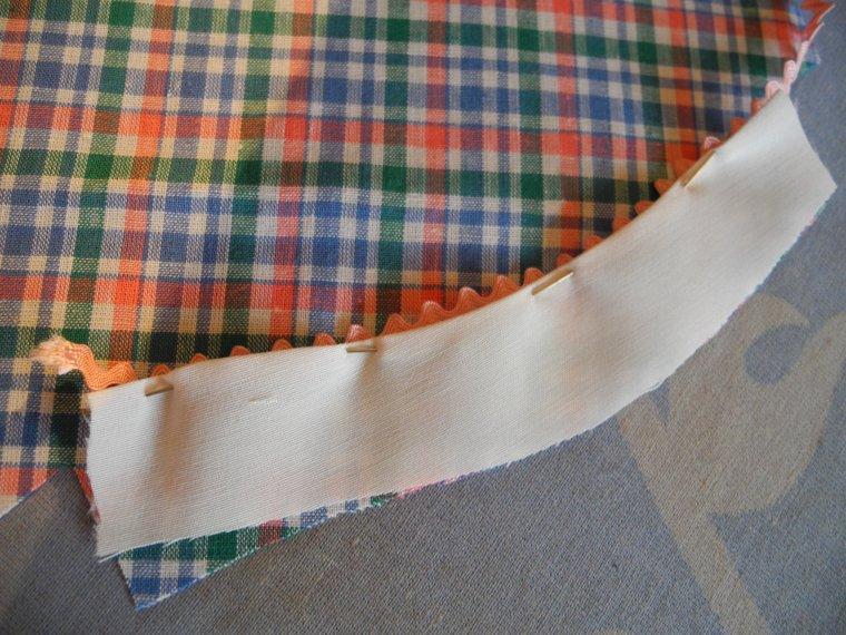 La robe d'avril 54 : les revers des manches