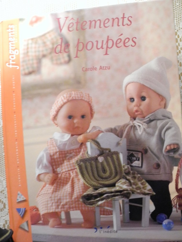 Ma doc pour les vêtements des petites poupées ...