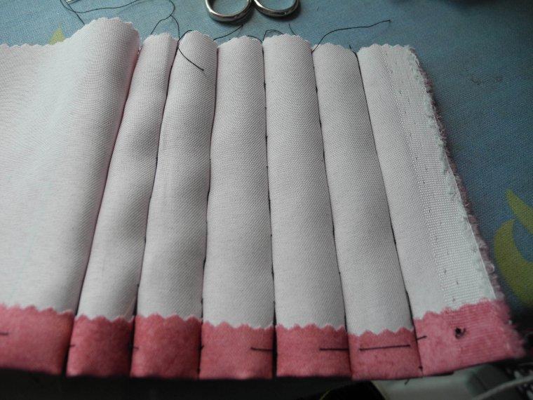 les plis ronds