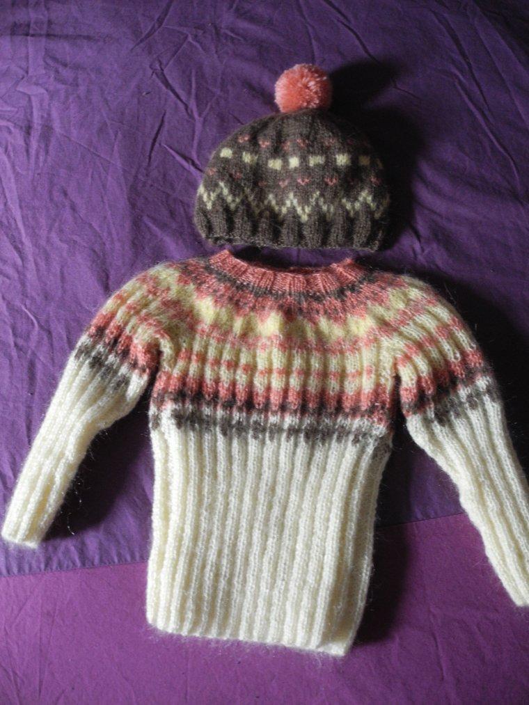 Les tricots pour Aliénor