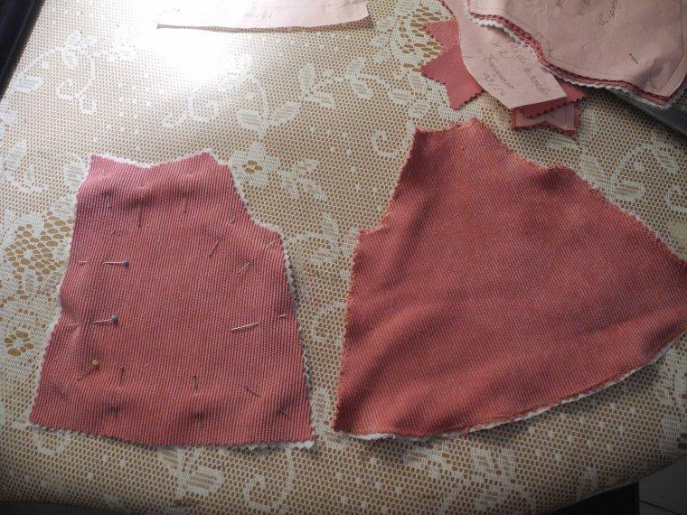 couture : la veste de mars 54 (première partie)