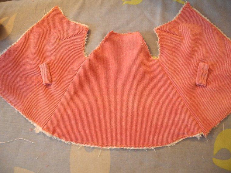 couture : la veste de mars 54 (deuxième partie)