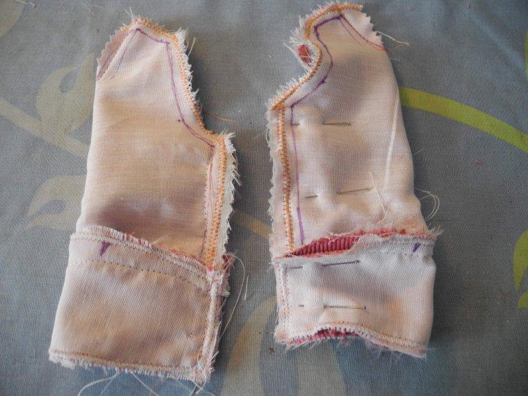 couture : la veste de mars 54 (troisième partie)