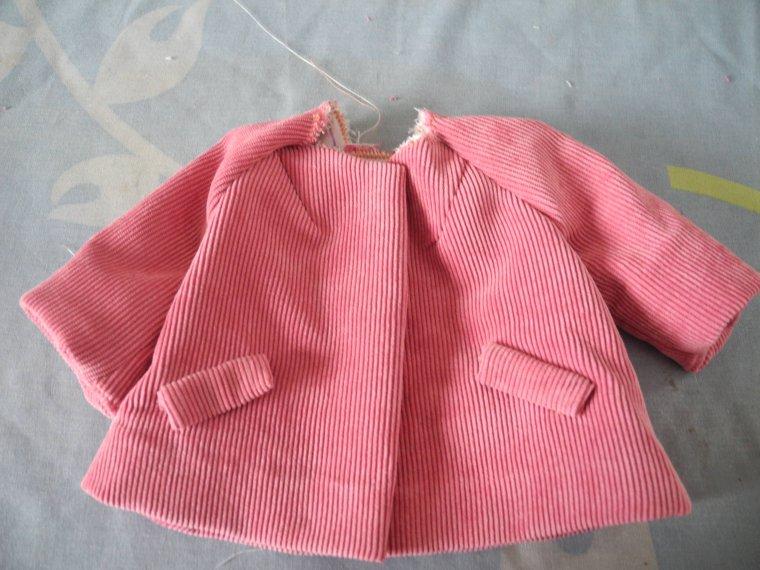 couture : la veste de mars 54 (quatrième partie)