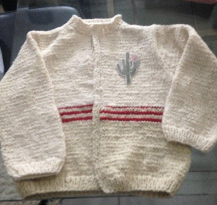 Pour Aliénor : côté tricot