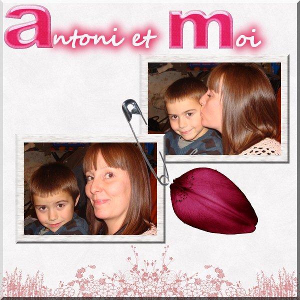 mon filleul Antoni et moi