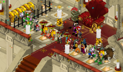La guilde , soirée screens