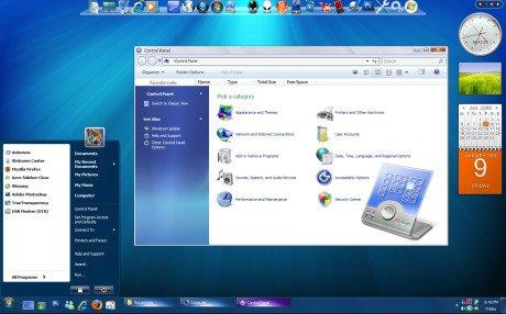 windows xp ثيم ويندوز َ7 رائع لل