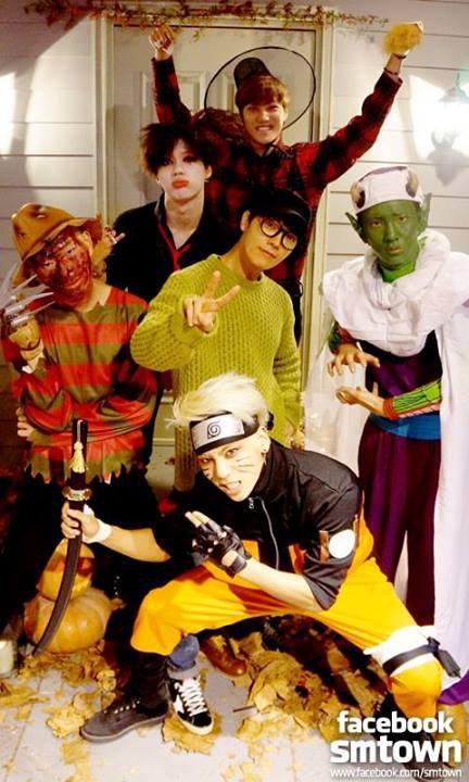 Kpop on Halloween