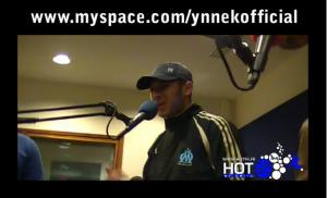 Freestyle d'Ynnek à Hot 95 avec Bladi, Vin's Imperial, Yahia, Isma, H2D