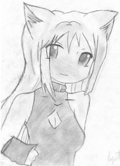 Dessin 11 manga neko blog de dessin luna - Mangas dessin ...