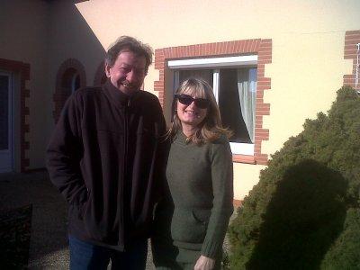 Jean-Claude et Maryaline à Durfort, un accueil spontané, chaleureux et bienvenu! Merci
