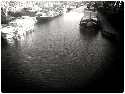 Moissac, le canal