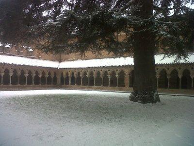 Le cloître de l'abbaye de Saint Pierre de Moissac