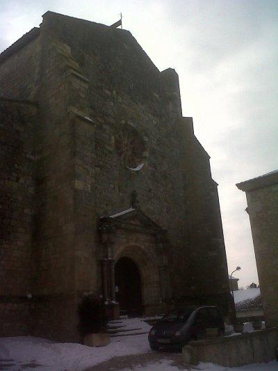 Eglise gothique de Miradoux