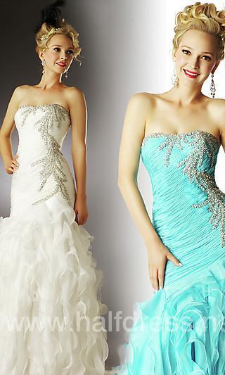 A Line One Shoulder Floor Length Black Satin Prom Dresses