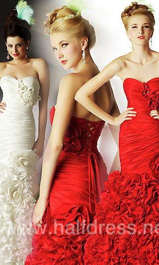 Lots of girls have long formal dresses a dream of being a princess with a ball gown wedding dress