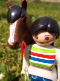Photo de playmobil-chevaux