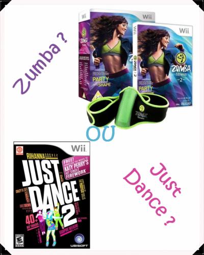 Wii = Zumba ? ou, Just Dance ?