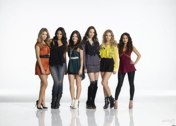 Ali,Emily,Aria,Spencer,Hannah,Mona ♥♥♥♥♥♥♥