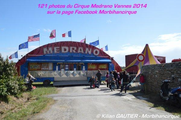 Cirque MEDRANO Vannes 2014