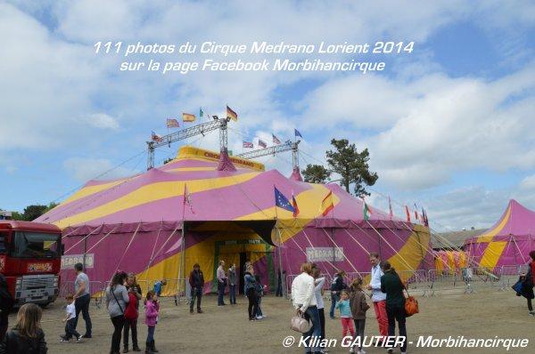 Cirque MEDRANO Lorient 2014