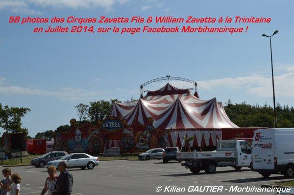 Cirque ZAVATTA FILS & WILLIAM ZAVATTA La Trinitaine 2014