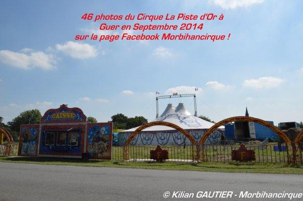 Cirque LA PISTE D'OR Guer 2014
