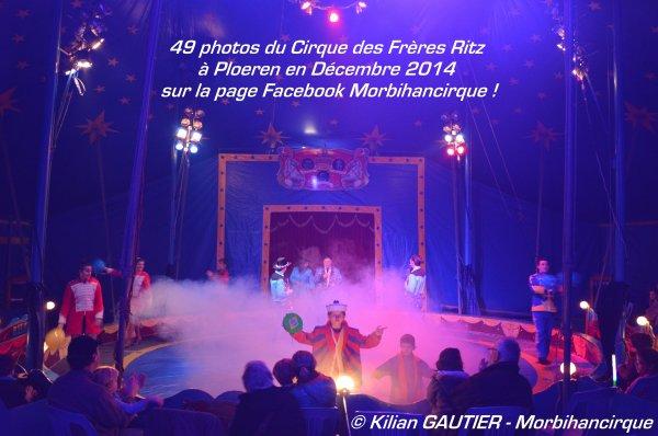 Cirque des FRERES RITZ Ploeren 2014
